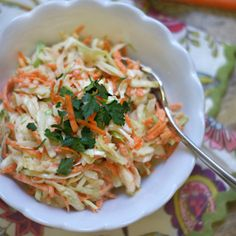 Creamy Coleslaw! (Dairy-free) Rather than using mayonnaise as a base, this dressing gets its creaminess from raw cashews, which promote heart and bone health. Perfect for packed lunches and meals on the go!
