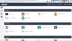 change look and style of cpanel