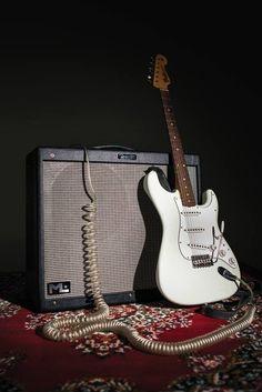 Fender Stratocaster and Hot Rod DeVille Michael Landau (ML) 212