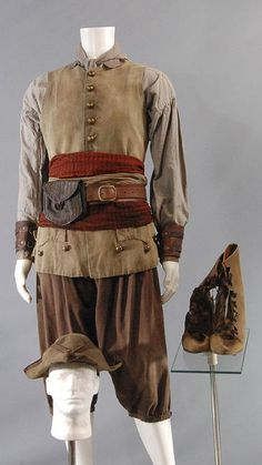 BLACK SAILS SCREEN WORN PIRATE COSTUME