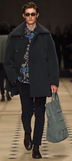 Burberry Fall Men's 2015 RTW WWD