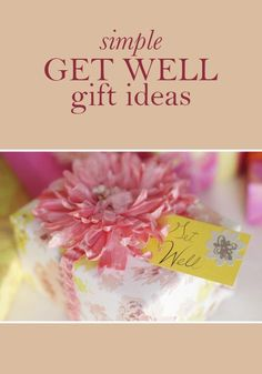 Whether you have a loved one in the hospital or a friend recuperating, help the people that mean the most to you heal good with these simple and thoughtful get well gift ideas.