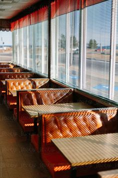 Diner Booth by Raymond Forbes LLC - Vintage, Diner - Stocksy United Vintage Diner, Retro Diner, Retro Cafe, Vintage Photography, Film Photography, Street Photography, Architecture Restaurant, Restaurant Design, Restaurant Restaurant