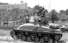 M51 iSherman during Six Day War, 1967.