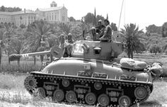 M51 iSherman during Six Day War, 1967