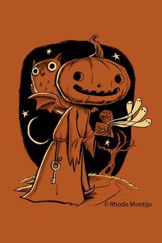 Halloween art by Rhode Montijo