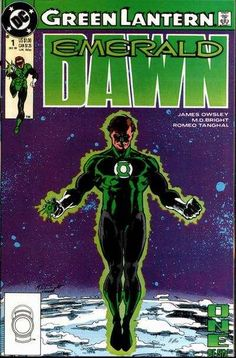 Bright Green Lantern Emerald Dawn Dc Comics Direct Sales Modern Age (1992-now)