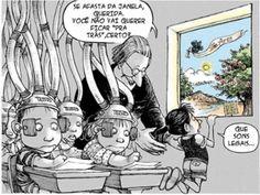 18 Quadrinhos Contundentes para Entender Por que Colocar uma Criança em uma Escola Tradicional é um Desastre | André Camargo Costa | LinkedIn