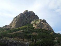 Peña de Bernal en Querétaro,México