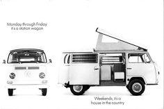 1968 VW Campmobile brochure