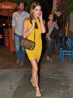 NIGHT LIGHT  After hitting the promotional trail for movie Butter, Ashley Greene enjoys a low-key night in Los Angeles on Tuesday.