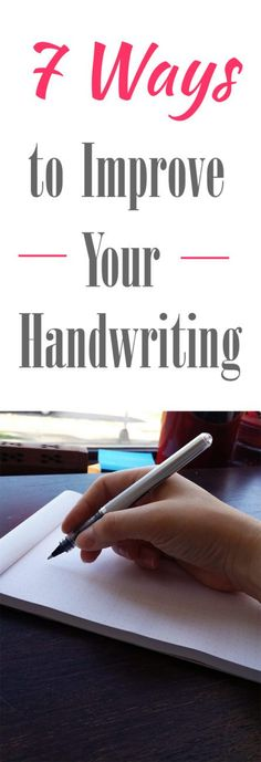 In the digital age, society has lost the art of penmanship. But good handwriting is impressive in the workplace and a great way to increase confidence. There are so many reasons to brush up your penmanship, so why not start today? Here are seven easy tips to help you improve your handwriting!