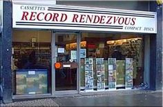 Record Rendevous - downtown where we went to buy records