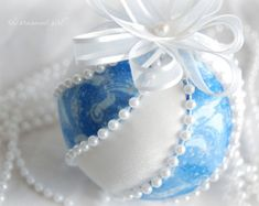 TUTORIAL No sew fabric ball ornament pattern by ornamentgirl