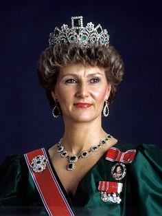 księżna koronna Norwegii Sonja - 1987r.