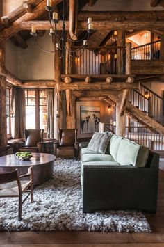 Rustic Montana mountain retreat offers a haven of relaxation