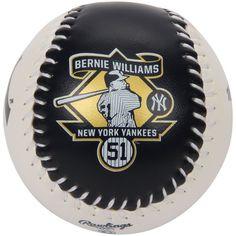 Bernie Williams New York Yankees Rawlings Retirement Commemorative Baseball
