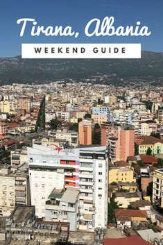Things to do in Tirana, Albania. Travel, food, culture and day trips. Beautiful Places To Travel, Cool Places To Visit, Albania Travel, Stuff To Do, Things To Do, Tirana Albania, Tourist Map, Winter Destinations, Hinata