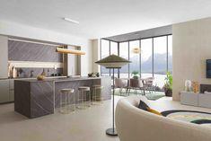 La dernière création de Perene, baptisée Osmose, met l'accent sur l'intérieur protecteur. Le choix des matières et l'harmonie des couleurs en font un espace apaisant où règnent sérénité et ressourcement. Decor, Furniture, Room, Home, Cuisine Design, Room Divider, Divider