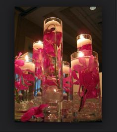 floating candle center piece