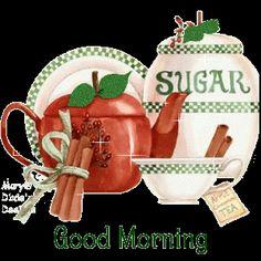 Good Morning glitter coffee breakfast tea strawberries sparkle pancakes good morning graphic