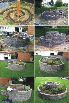 DIY Herb Spiral Garden - Tips On How To Build One - Find Fun Art Projects to Do at Home and Arts and Crafts Ideas