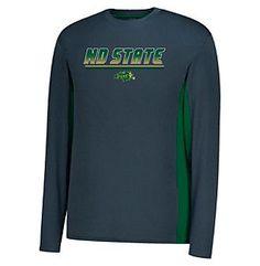 J. America NCAA® North Dakota State Men's Density Long Sleeve Tee