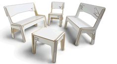 Flat Pack - Slot Together - Customizable Furniture for kids and adults - Link