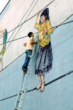 ERNEST ZACHAREVIC http://www.widewalls.ch/artist/ernest-zacharevic/ #street #art