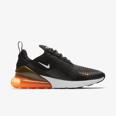 Details zu Nike Air Max 270 Nike ID Platinum Grey Orange UK