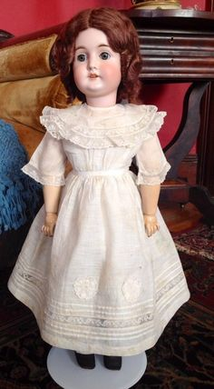 "~ GERMANY ~ Charming 25"" Karl Hartmann Doll http://www.dollshopsunited.com/stores/missjantiquebebes/items/1295368/Charming-25-Karl-Hartmann-Doll/enlargement2 #dollshopsunited"