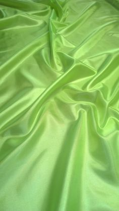 Neon Green Habotai Fabric - By The Yard Dark Green Aesthetic, Rainbow Aesthetic, Aesthetic Colors, Aesthetic Photo, Aesthetic Pictures, Green Aesthetic Tumblr, Aesthetic Collage, Pink Wallpaper Iphone, Green Wallpaper