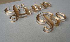 透明壓克力背上金色噴漆-立體圖+字 @ 寶麗廣告~~提供最精緻優美的產品 :: 隨意窩 Xuite日誌
