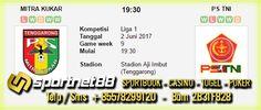 Prediksi Skor Bola Mitra Kukar vs PS TNI 2 Jun 2017 Liga 1 di Stadion Aji Imbut (Tenggarong) pada hari Jumat jam 19:30 WIB