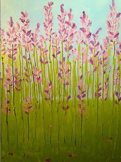 """Spring Fields""Original Art by SLHay ©2015"