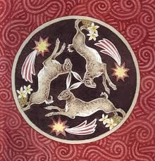 the sacred animal of the Goddess of Spring, Ostara was the hare. hares were symbols of resurrection and immortality in china, india, egypt long before hares were easter bunnies Jack Rabbit, Rabbit Art, Anglo Saxon Tattoo, Hare Pictures, Hare Images, Hare Illustration, Lapin Art, Some Bunny Loves You, Bunny Art