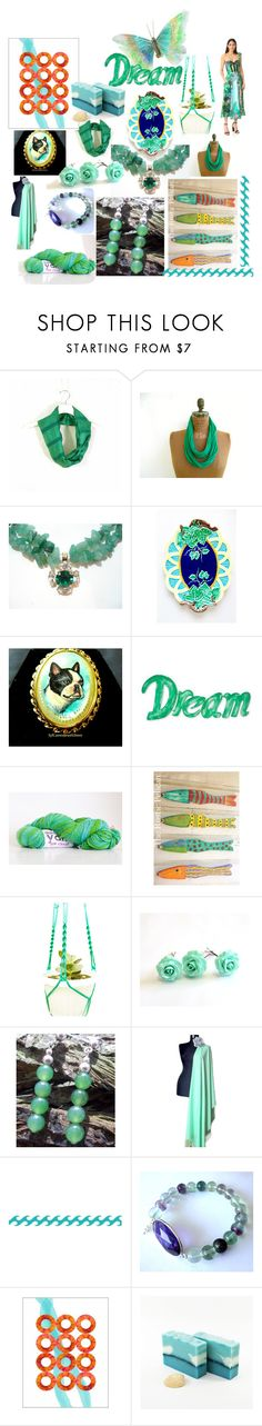 """Dream On"" by anna-recycle ❤ liked on Polyvore featuring Zrike, NOVICA, Rochas, modern, rustic and vintage"