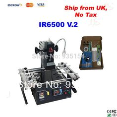 560.00$  Watch here - http://alifgu.worldwells.pw/go.php?t=1833428411 - IR6500 V.2 Infrared BGA Rework Station, bga machine with bigger preheat area 240*200mm, USB port, Ship from UK, No Tax! 560.00$