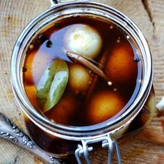 Pickled Onions In Balsamic Vinegar  Pure Mountain Olive Oil is the obvious choice for any recipe, but this sounds incredible!!!