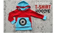 Tutorial: Upcycled t-shirt hoodie · Sewing | CraftGossip.com
