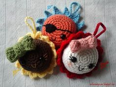A is for Amigurumi.  FREE PATTERN 12/14.