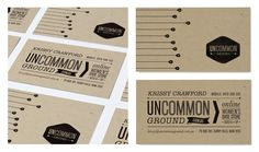 Uncommon Ground by Whitney Colbourn, via Behance