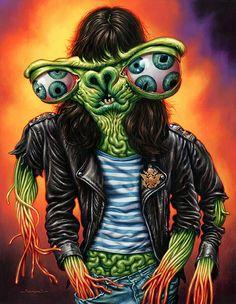 Joey Ramone by Jason Edminston
