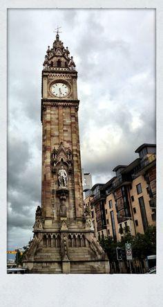 Albert Memorial Clock - Victoria Square, Belfast, Northern Ireland