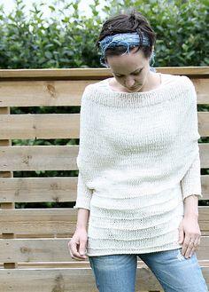 Ravelry: Backwards upside-down-sweater pattern by Anna & Heidi Pickles