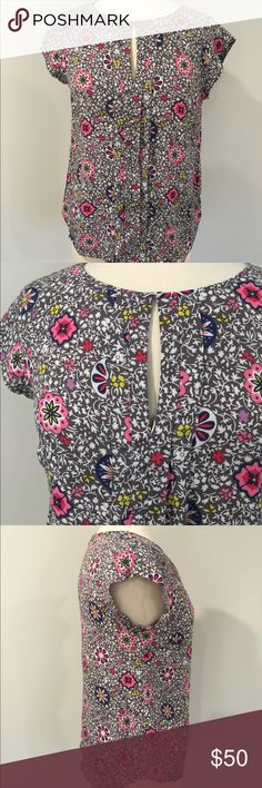 Boden Multicolor Casual Floral Summer Blouse Gorgeous and light weight Blouse from Boden. Offers welcomed. 123 Boden Tops Blouses