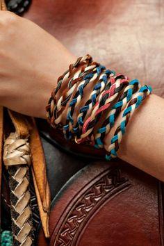 Braided Horsehair Bracelet by Chic Verte that is by ChicVerte