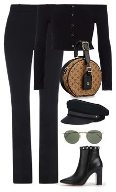 """Untitled #4701"" by magsmccray on Polyvore featuring Gucci, River Island, Lola and Ray-Ban"