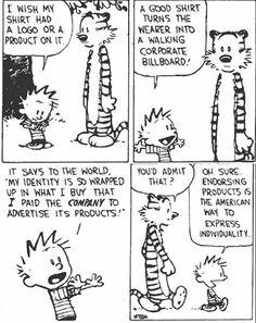 Calvin and Hobbes. I love Calvin and Hobbes! Calvin And Hobbes Comics, Calvin And Hobbes Quotes, Comics Illustration, Illustrations, Hobbes And Bacon, The Awkward Yeti, Fun Comics, Manga, Comic Strips