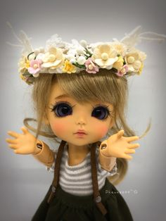Kawaii Doll, Crown, Sun, Dolls, Big Eyes, Bjd Dolls, Baby Dolls, Corona, Puppet